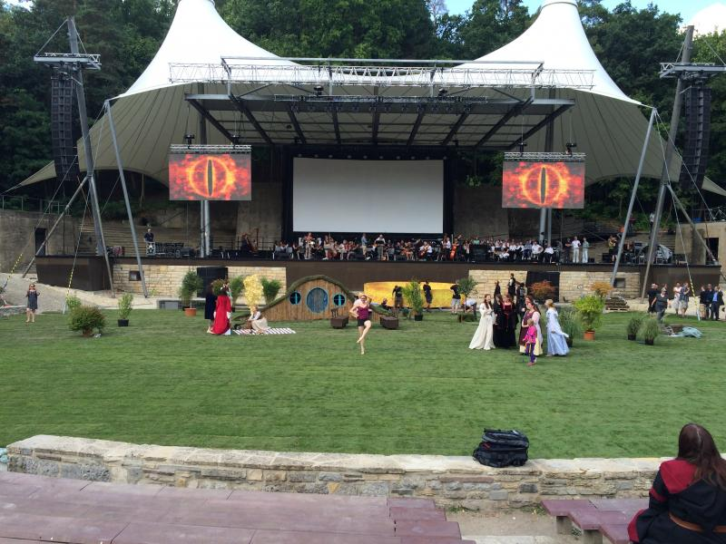 "Cinema concert ""Lord of the Rings"""